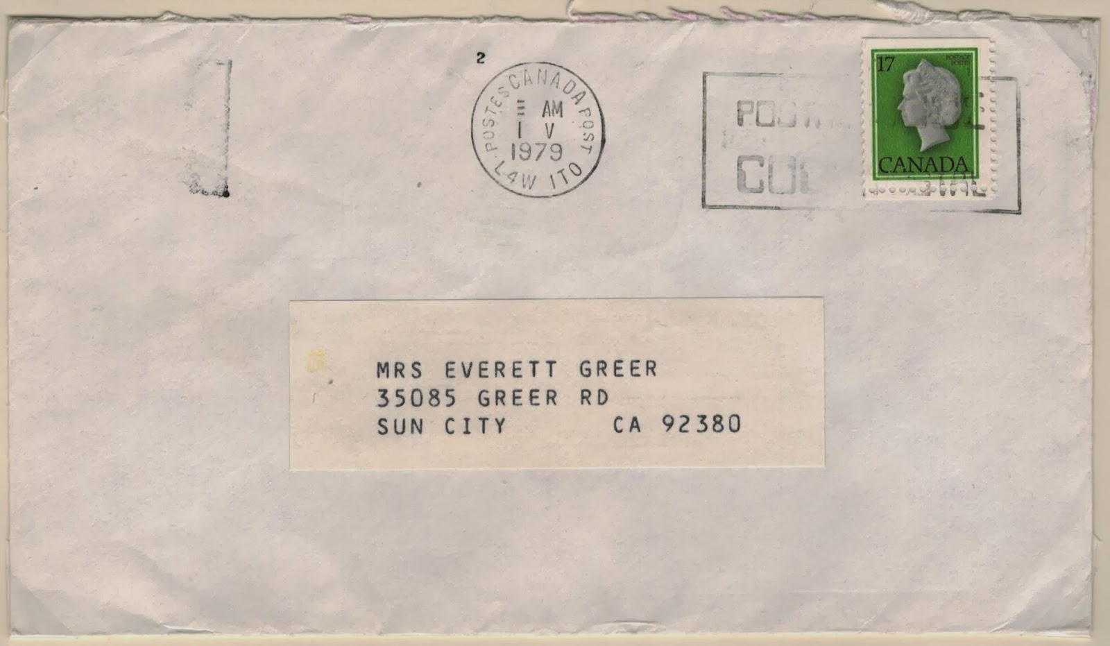 Sun City (CA) United States  City new picture : Postal History Corner: 3. United States Letter Rates: 1851 to the ...