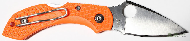 Spyderco Orange Dragonfly EDC Pocket Knife - Gallery 5