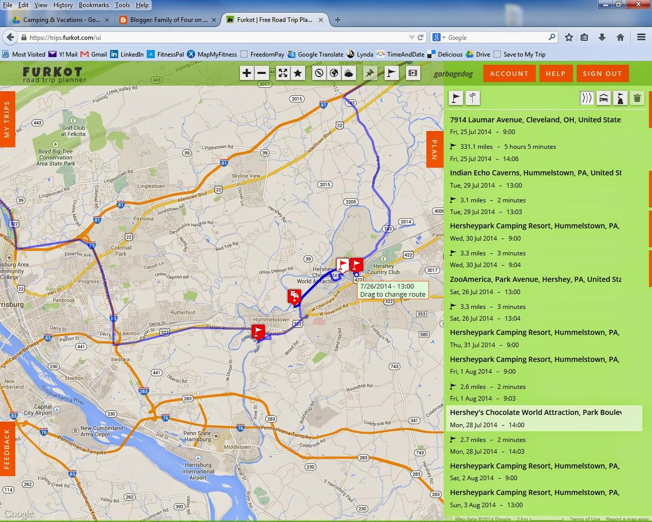 Business trip planner – World Travel Map Planner