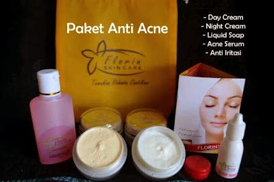 Florin Paket Acne Serum Untuk Memutihkan Wajah Dan Mengatasi Jerawat