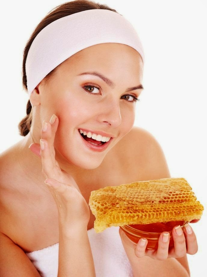 honey for skin care and hair