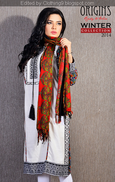 Origins FW Shawls Dress 2015