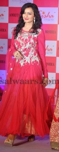 Organza Stylish Net Salwar by Trisha Trends