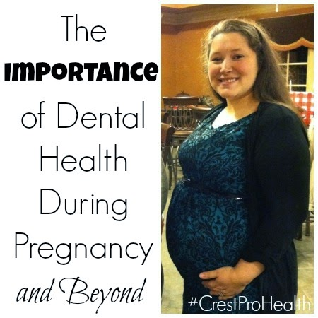 The Importance of Dental Health During Pregnant and Beyond! #CrestProHealth