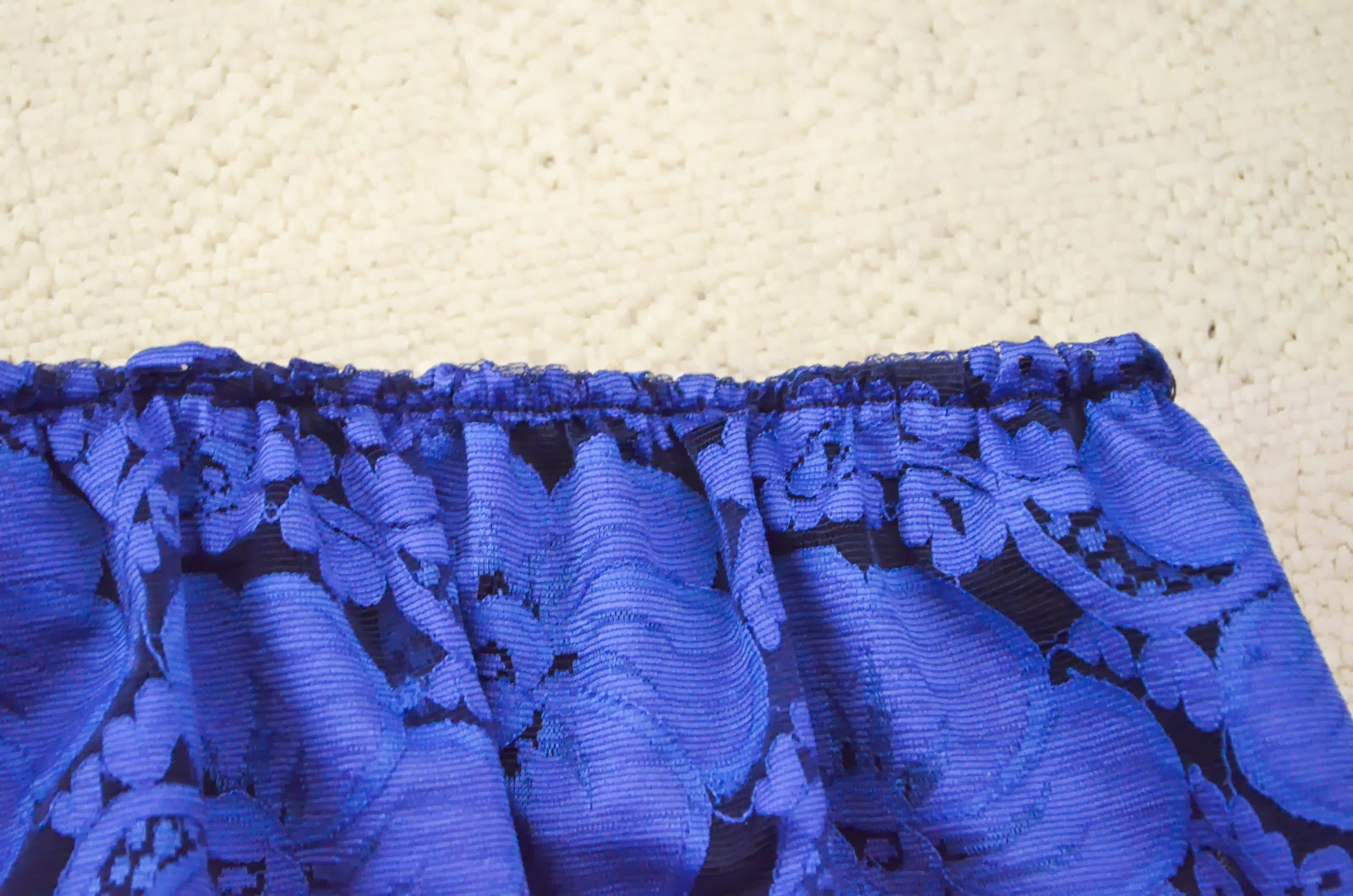 sew blue lace diy maxi skirt blue do it yourself