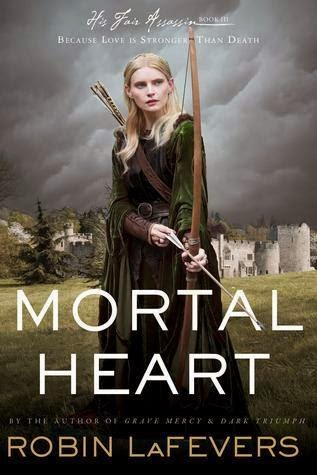 Mortal Heart book cover