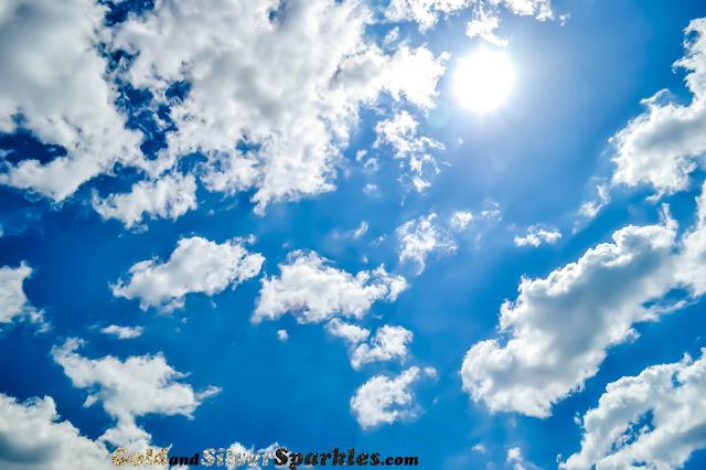 sky, blue, sun, blue sky