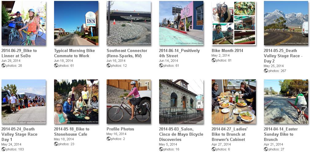 bicycling photos