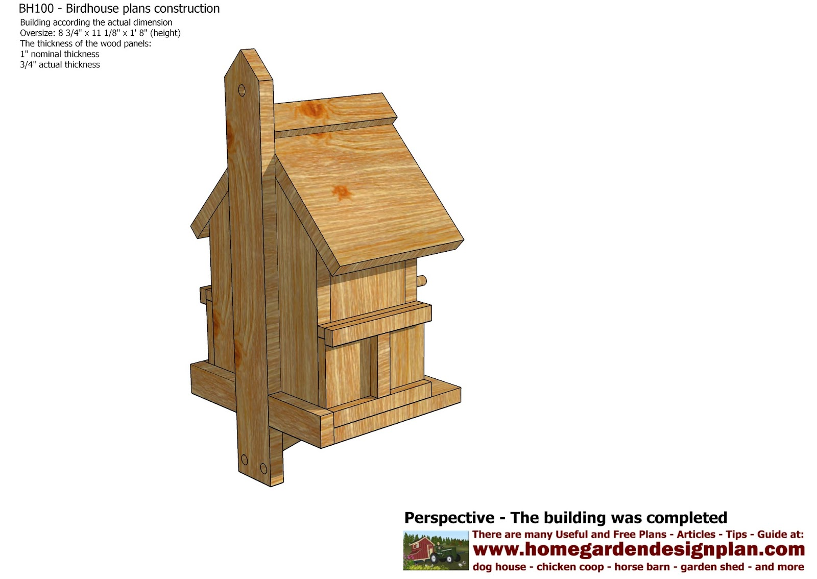bird house plans youtube