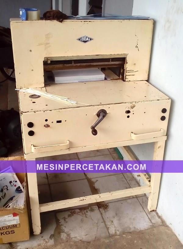 Mesin potong kertas bekas IDEAL