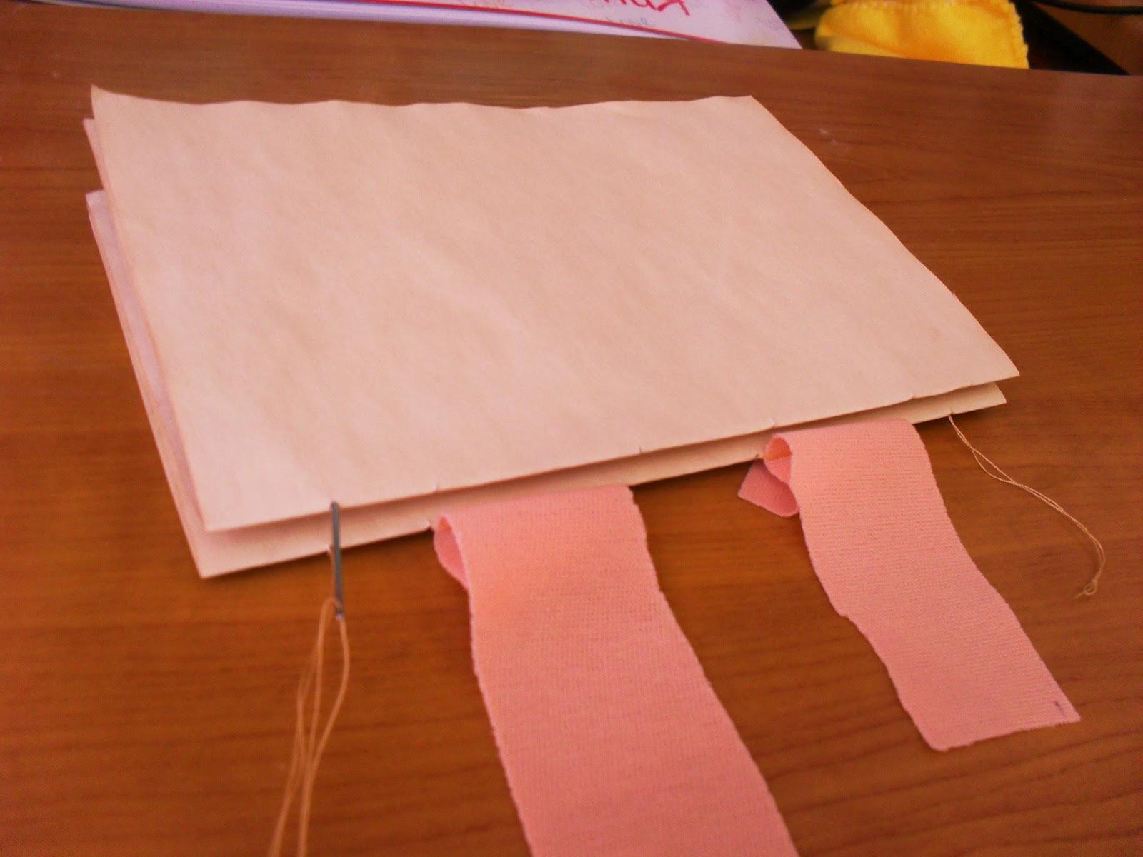 Как сделать блокнот без ниток 183