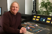 Bob Ludwig at console image from Bobby Owsinski's Big Picture production blog