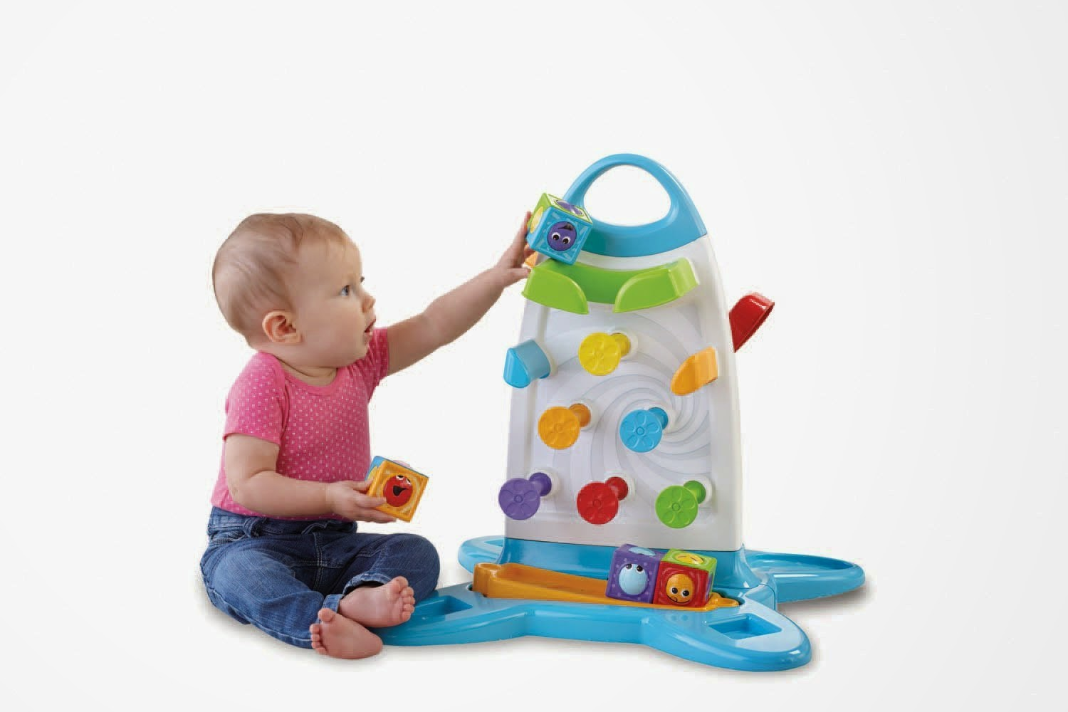 Buy Fisher Price Roller Blocks Play Wall Rs. 1815 only at Amazon.