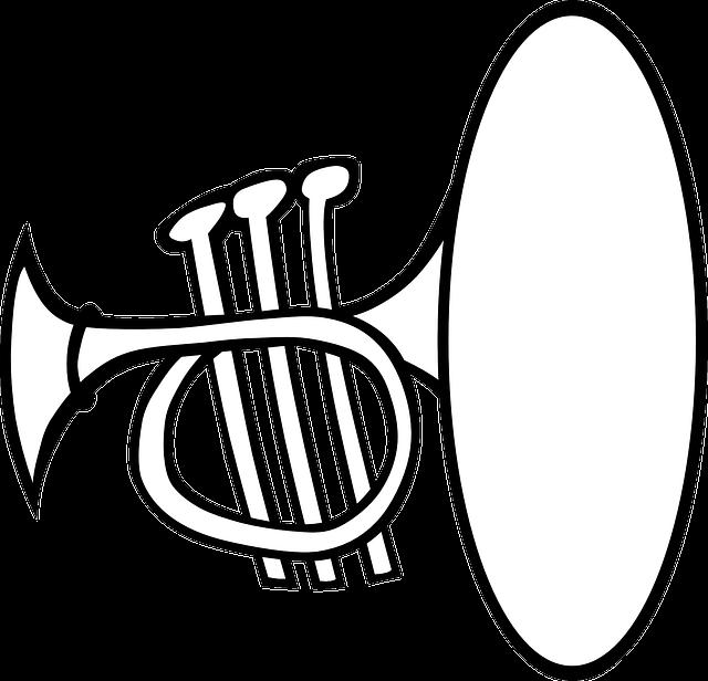 トランペットの画像