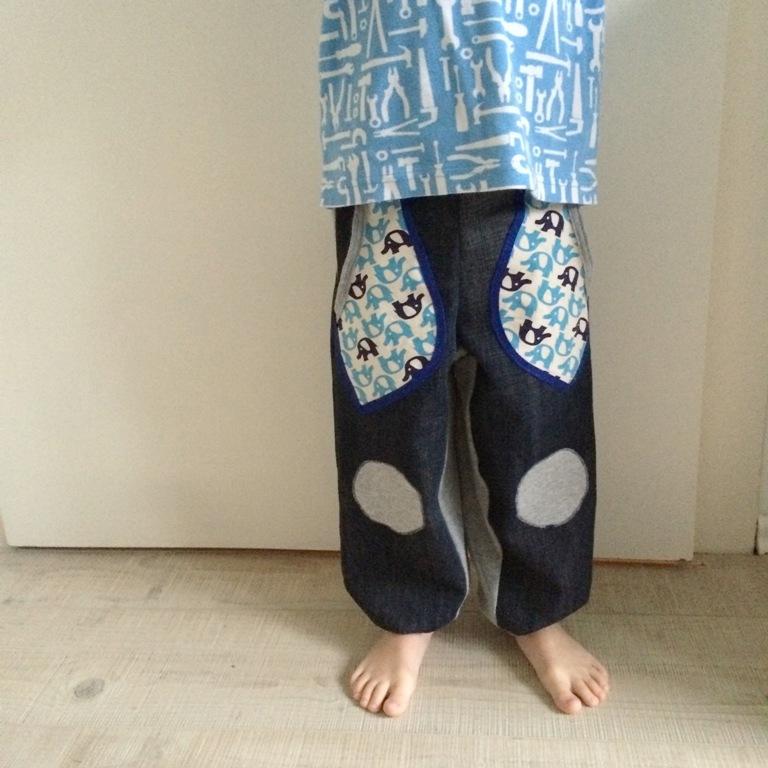 Creadienstag, DIY, Upcycling, Kinderkleidung nähen, Pumphose, Kinderhose selbst nähen
