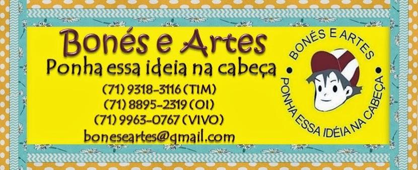 Bonés e Artes Brindes