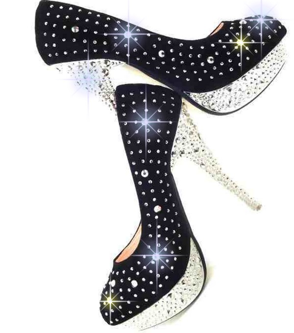 Very Best Black Sparkly Wedding Shoes 600 x 678 · 69 kB · jpeg