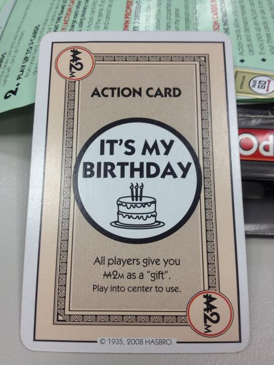 Monopoly Birthday Card Pictures On Tcs