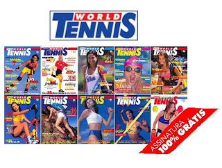 Brinde Grátis Revista World Tennis