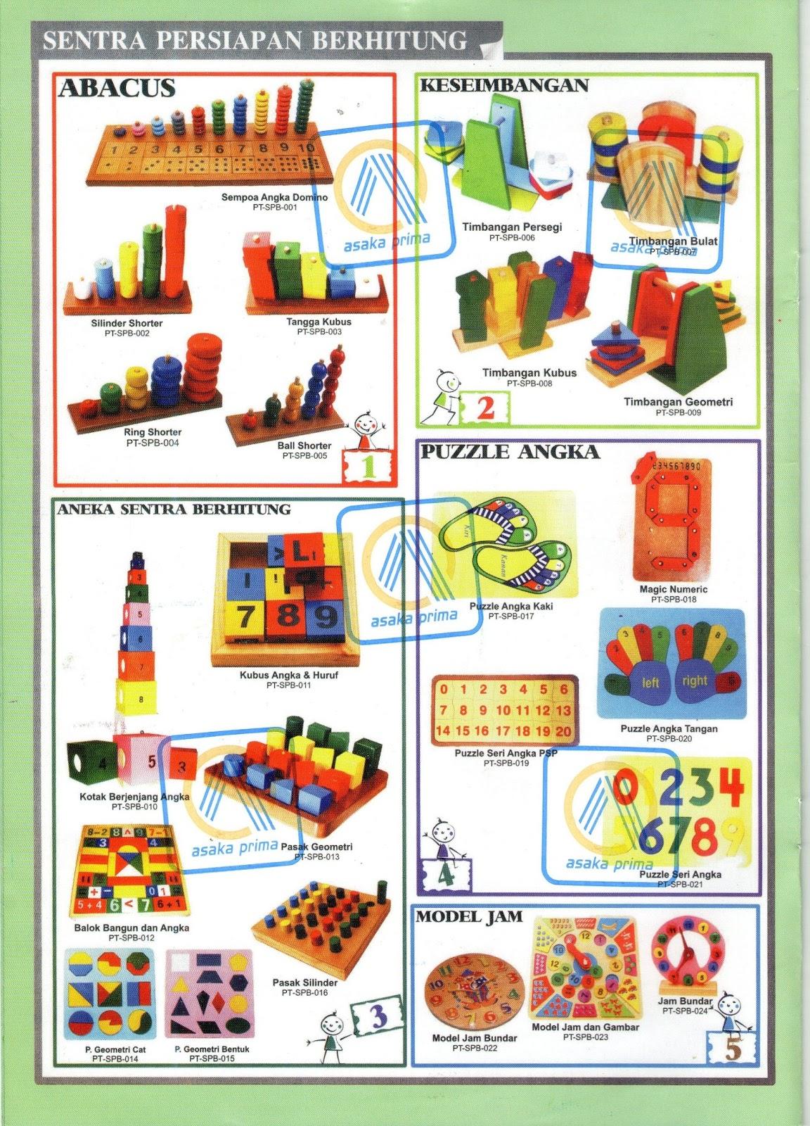 sentra persiapan berhitung,puzzle,puzle,ape,mainan edukatif,bkb kit,kie kit,dak paud,juknis dak paud 2013