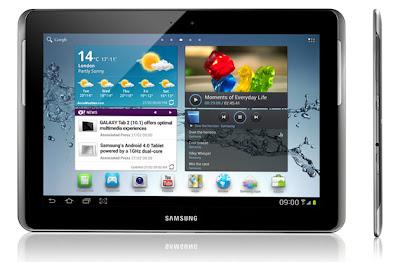 Samsung Galaxy Tab 2 Akan di Rilis dalam waktu dekat ini