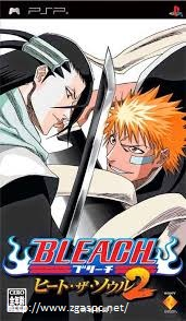 Free Download Games Bleach Heat The Soul II PPSSPP ISO Untuk Komputer Full Version ZGASPC
