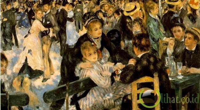 Bal du Moulin de la Galette oleh Pierre-Auguste Renoir