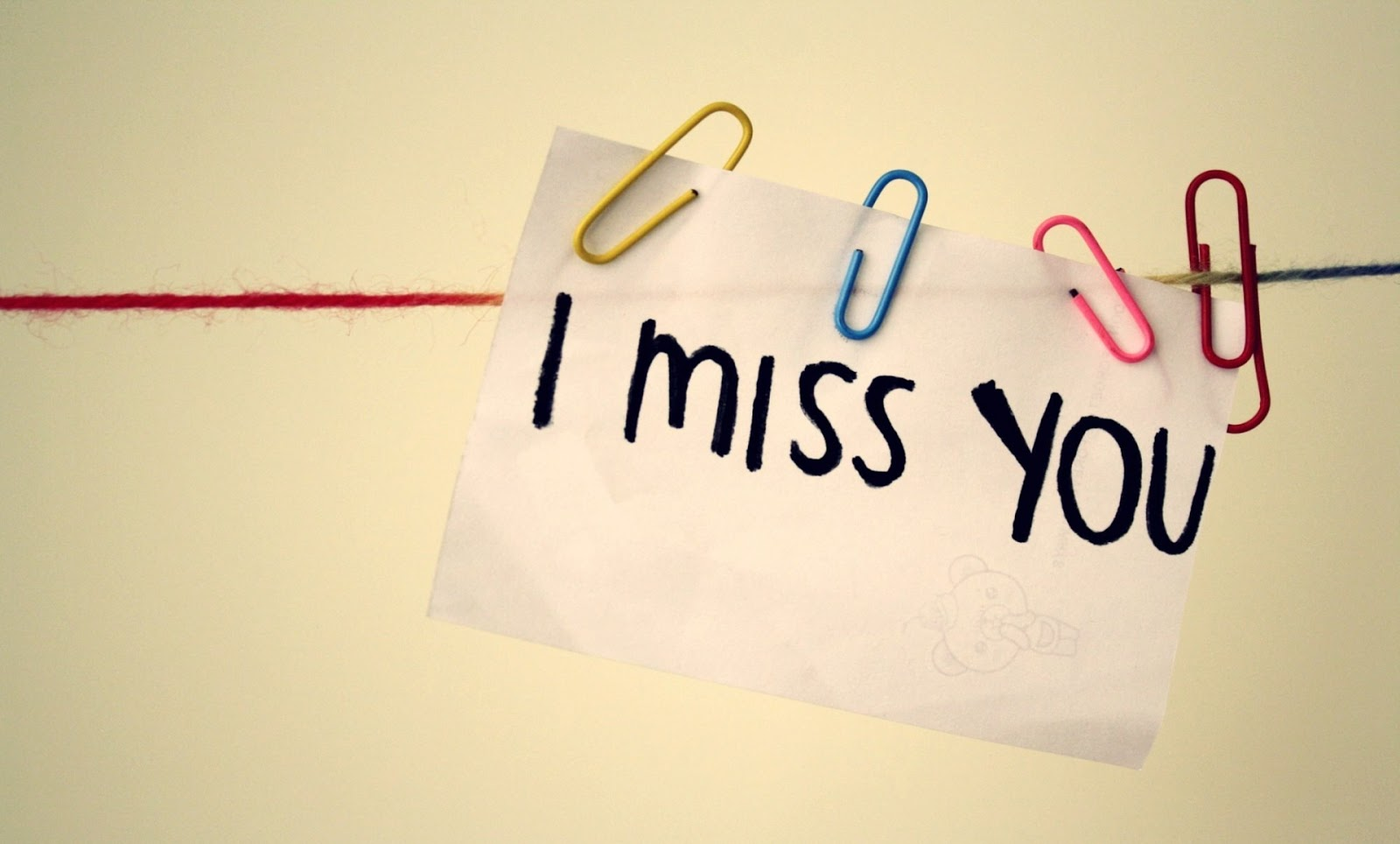 I Miss You HD Wallpaper New