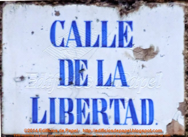 En Ourense, Calle de la Libertad