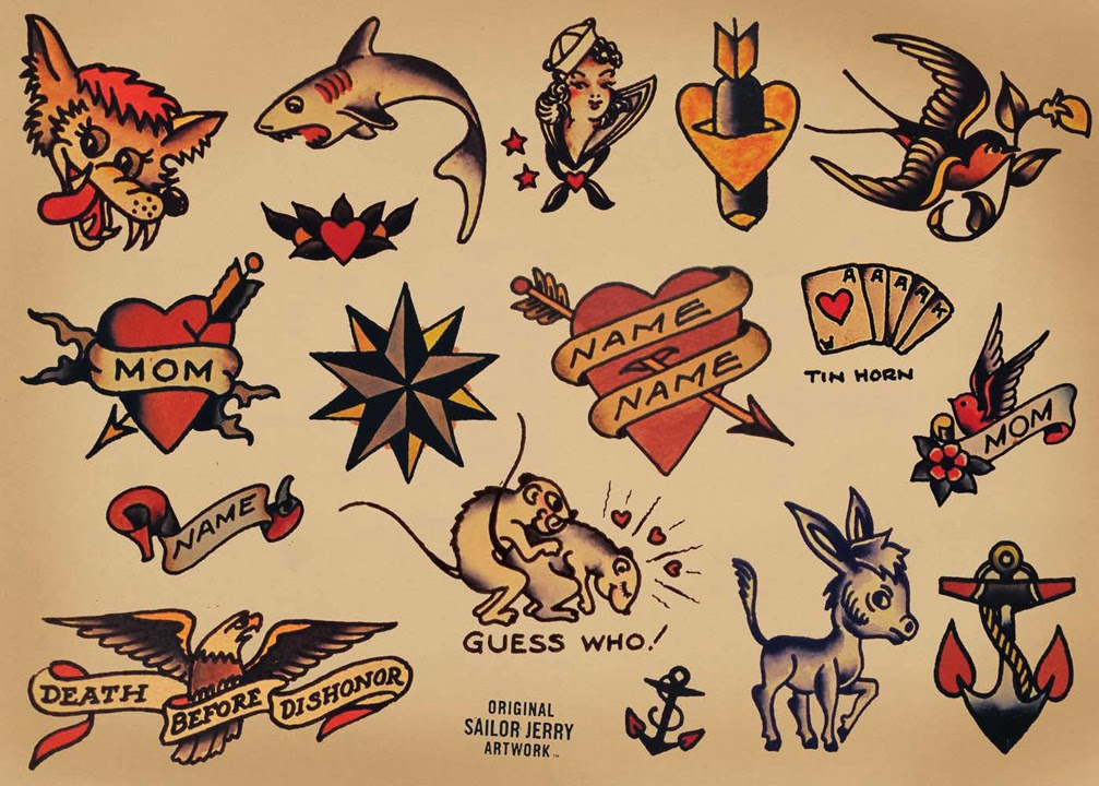 tatuagem, old school tattoo, tattoo old school, tattoo, tattoo artist, old school tattoo artist, sailor jerry, sailor jerry tattoo, sailor jerry flash tattoo, flash tattoo,