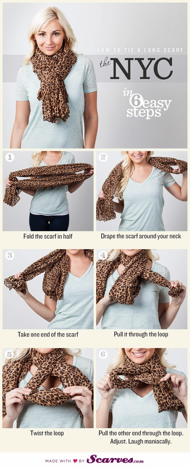 many ideas of how to tie a scarf diy craft projects