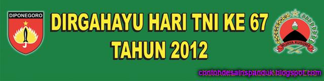 Dirgahayu Hari TNI Ke 67 Tahun 2012
