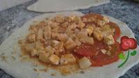 pan relleno a la sarten