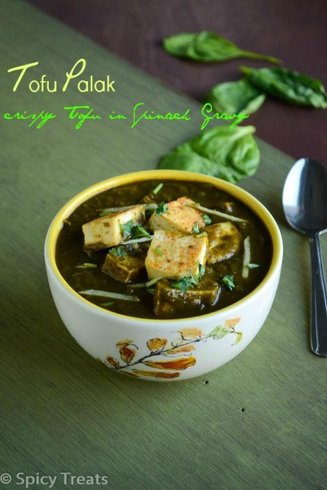 Tofu Palak