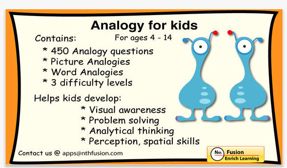 Technology Tailgate: Analogies 4 Kids App and FREE Accountability ...