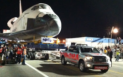 Toyota Tundra, Space Shuttle Endeavour, Towing, Toyota Tough