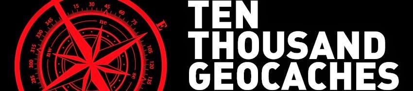 10,000 Geocaches