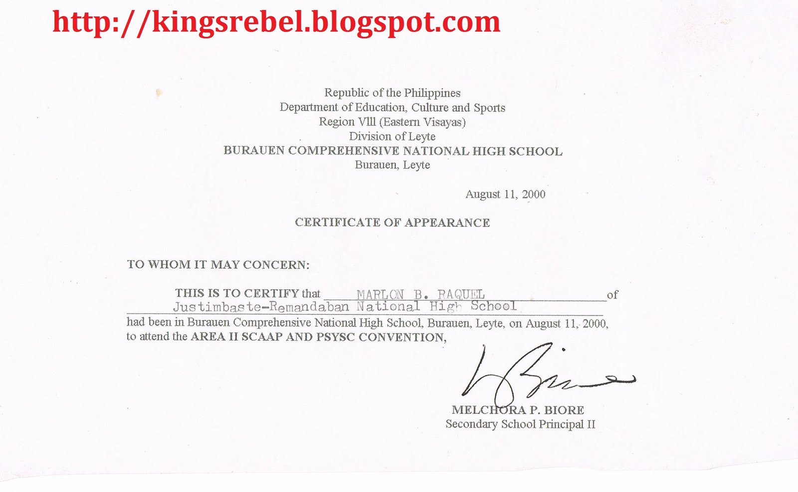 Tidbits and bytes example of certificate of appearance scaap and tidbits and bytes example of certificate of appearance scaap and psysc convention yadclub Images