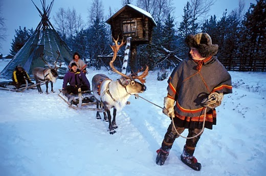 10 destinations Family Travel for 2014 Lapland