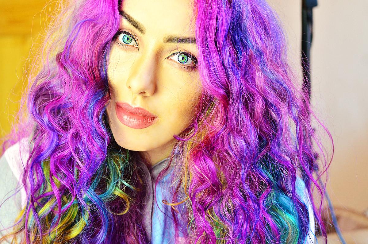 How To Get Rainbow Hair