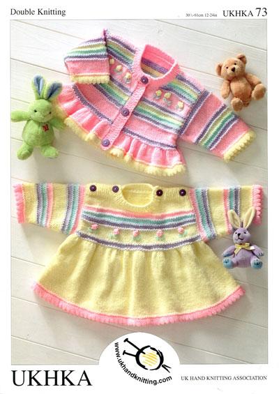 Ukhka 73 Baby Girl Knitting Pattern