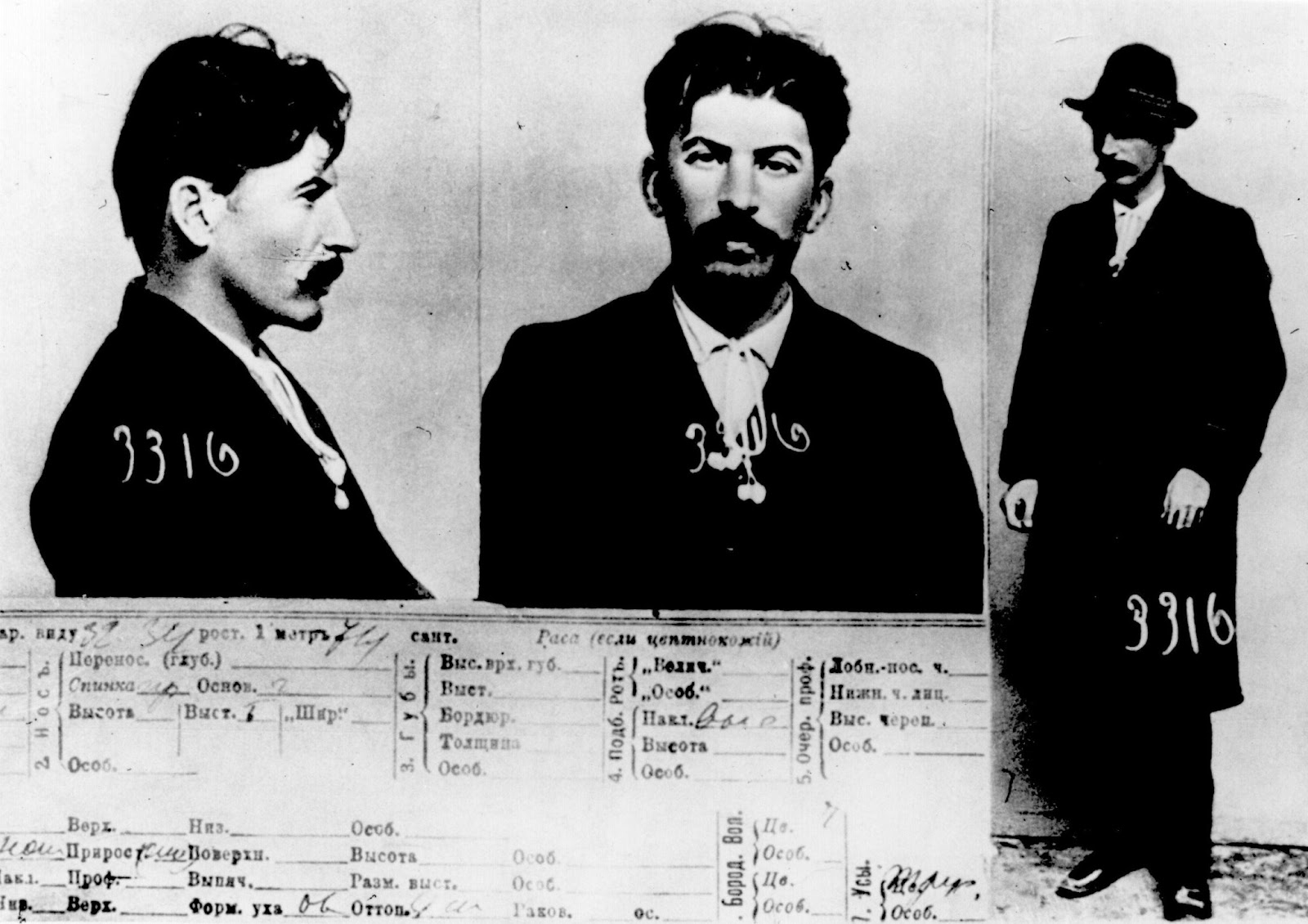 vintage everyday top facts you didn t know about joseph stalin mugshot of joseph stalin held by okhrana 1911 he was 33 years old