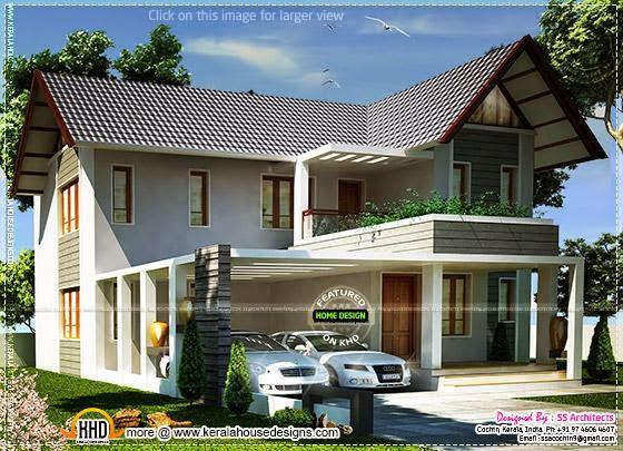 European model villa