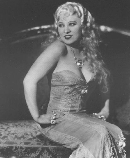 MAE WEST (1893-1980) - ENTERTAINER
