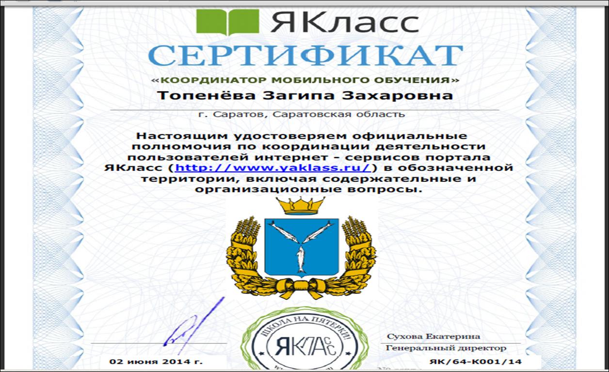 Координатор Саратовской области