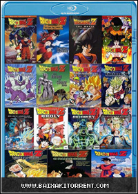 Capa Baixar Filme Dragon Ball Z: 15 Filmes Dublado   Torrent Baixaki Download