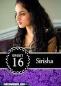 Sirisha's Sweet 16 Birthday Invitation Graphic Design