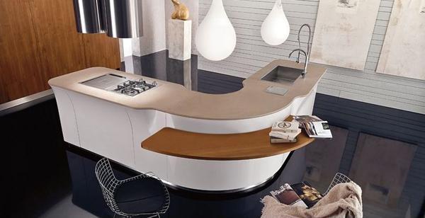 Berbagai Model dan Desain Dapur Modern Unik