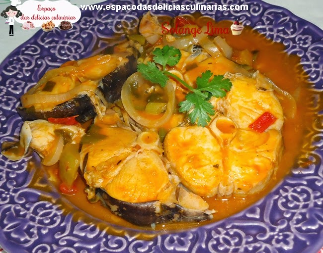 Moqueca de peixe com leite de cocoEspaço das delícias culinárias