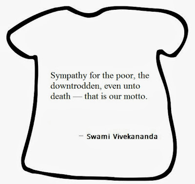 Sympathy for the poor, the downtrodden, even unto death — that is our motto.